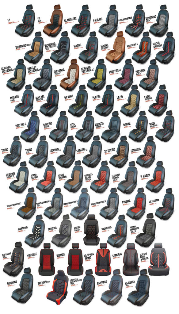 Alea Leather Seat Designs